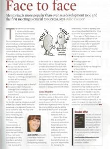 Business Executive Mentoring article